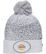 New Era Los Angeles Lakers NBA On Court Collection Pom Knit Hat