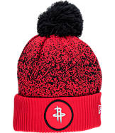 New Era Houston Rockets NBA On Court Collection Pom Knit Hat