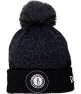 New Era Brooklyn Nets NBA On Court Collection Pom Knit Hat