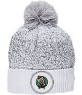 New Era Boston Celtics NBA On Court Collection Pom Knit Hat