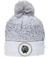 New Era Boston Celtics NBA On Court Collection Pom Knit Hat