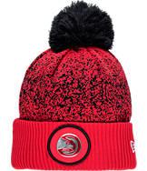 New Era Atlanta Hawks NBA On Court Collection Pom Knit Hat