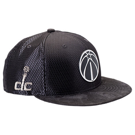 New Era Washington Wizards NBA 2017 Draft Official On Court Collection 9FIFTY Snapback Hat