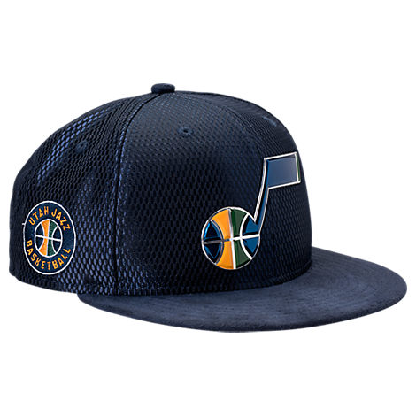 New Era Utah Jazz NBA 2017 Draft Official On Court Collection 9FIFTY Snapback Hat