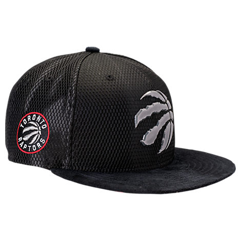 New Era Toronto Raptors NBA 2017 Draft Official On Court Collection 9FIFTY Snapback Hat