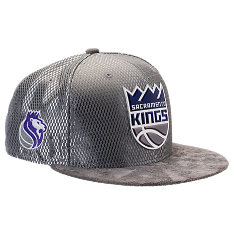 New Era Sacramento Kings NBA 2017 Draft Official On Court Collection 9FIFTY Snapback Hat