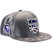 Front view of New Era Sacramento Kings NBA 2017 Draft Official On Court Collection 9FIFTY Snapback Hat in Team Colors
