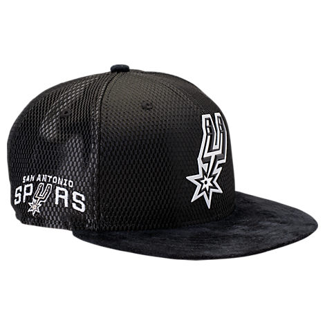 New Era San Antonio Spurs NBA 2017 Draft Official On Court Collection 9FIFTY Snapback Hat