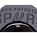 Back view of New Era San Antonio Spurs NBA 2017 Draft Official On Court Collection 9FIFTY Snapback Hat in