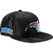 Front view of New Era Orlando Magic NBA 2017 Draft Official On Court Collection 9FIFTY Snapback Hat in Team Colors