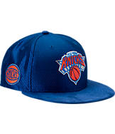 New Era New York Knicks NBA 2017 Draft Official On Court Collection 9FIFTY Snapback Hat