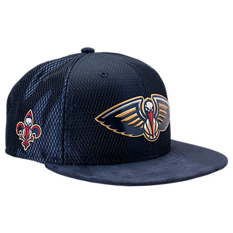 New Era New Orleans Pelicans NBA 2017 Draft Official On Court Collection 9FIFTY Snapback Hat