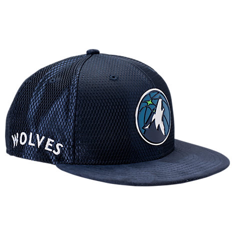 New Era Minnesota Timberwolves NBA 2017 Draft Official On Court Collection 9FIFTY Snapback Hat