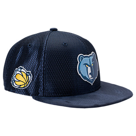 New Era Memphis Grizzlies NBA 2017 Draft Official On Court Collection 9FIFTY Snapback Hat