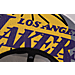 Alternate view of New Era Los Angeles Lakers NBA 2017 Draft Official On Court Collection 9FIFTY Snapback Hat in White