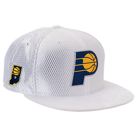 New Era Indiana Pacers NBA 2017 Draft Official On Court Collection 9FIFTY Snapback Hat