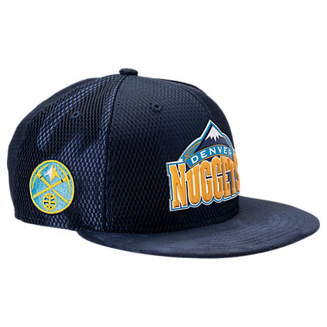 New Era Denver Nuggets NBA 2017 Draft Official On Court Collection 9FIFTY Snapback Hat