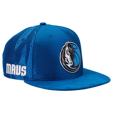 New Era Dallas Mavericks NBA 2017 Draft Official On Court Collection 9FIFTY Snapback Hat