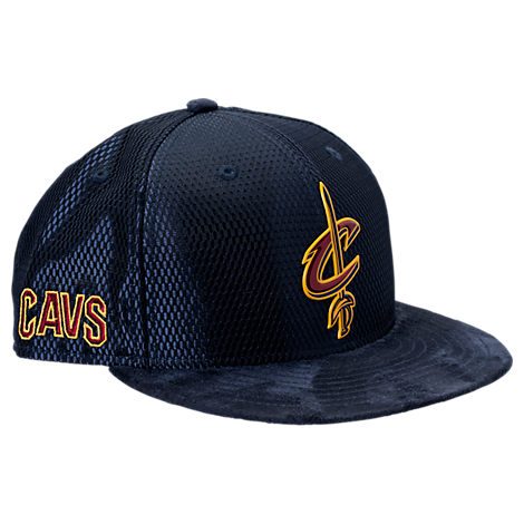 New Era Cleveland Cavaliers NBA 2017 Draft Official On Court Collection 9FIFTY Snapback Hat