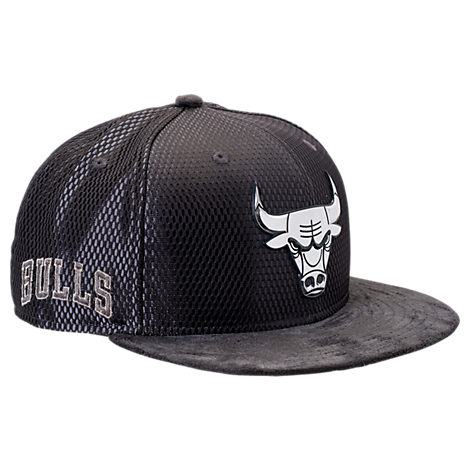 New Era Chicago Bulls NBA 2017 Draft Official On Court Collection 9FIFTY Snapback Hat