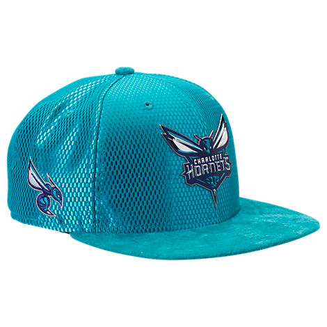 New Era Charlotte Hornets NBA 2017 Draft Official On Court Collection 9FIFTY Snapback Hat