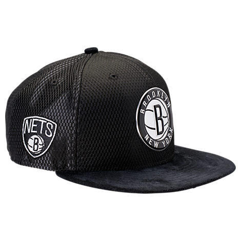 New Era Brooklyn Nets NBA 2017 Draft Official On Court Collection 9FIFTY Snapback Hat