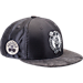 Front view of New Era Boston Celtics NBA 2017 Draft Official On Court Collection 9FIFTY Snapback Hat in Graphite/Silver