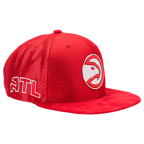 New Era Atlanta Hawks NBA 2017 Draft Official On Court Collection 9FIFTY Snapback Hat