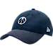 Front view of New Era Washington Wizards NBA 2017 Draft Official On Court Collection 9TWENTY Adjustable Hat in Team Colors
