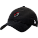 Front view of New Era Portland Trail Blazers NBA 2017 Draft Official On Court Collection 9TWENTY Adjustable Hat in Team Colors