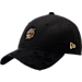 Front view of New Era Portland Trail Blazers NBA 2017 Draft Official On Court Collection 9TWENTY Adjustable Hat in Black/Gold