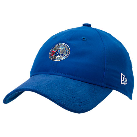 New Era Philadelphia 76ers NBA 2017 Draft Official On Court Collection 9TWENTY Adjustable Hat