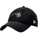 Front view of New Era Orlando Magic NBA 2017 Draft Official On Court Collection 9TWENTY Adjustable Hat in Team Colors