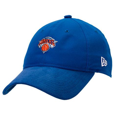 New Era New York Knicks NBA 2017 Draft Official On Court Collection 9TWENTY Adjustable Hat