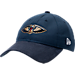 Front view of New Era New Orleans Pelicans NBA 2017 Draft Official On Court Collection 9TWENTY Adjustable Hat in Team Colors
