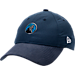 Front view of New Era Minnesota Timberwolves NBA 2017 Draft Official On Court Collection 9TWENTY Adjustable Hat in Team Colors