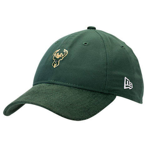 New Era Milwaukee Bucks NBA 2017 Draft Official On Court Collection 9TWENTY Adjustable Hat