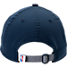 Back view of New Era Memphis Grizzlies NBA 2017 Draft Official On Court Collection 9TWENTY Adjustable Hat in Team Colors