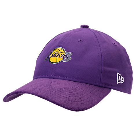 New Era Los Angeles Lakers NBA 2017 Draft Official On Court Collection 9TWENTY Adjustable Hat