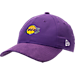 Front view of New Era Los Angeles Lakers NBA 2017 Draft Official On Court Collection 9TWENTY Adjustable Hat in Team Colors