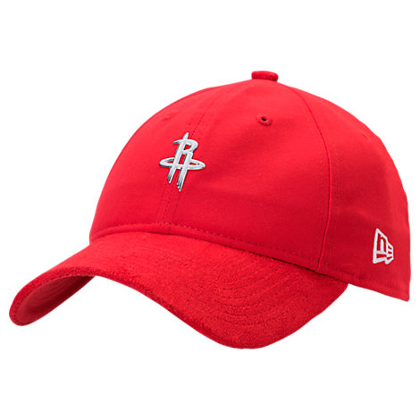 New Era Houston Rockets NBA 2017 Draft Official On Court Collection 9TWENTY Adjustable Hat
