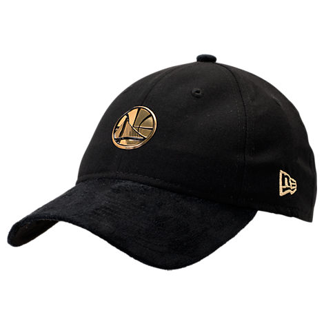 New Era Golden State Warriors NBA 2017 Draft Official On Court Collection 9TWENTY Adjustable Hat