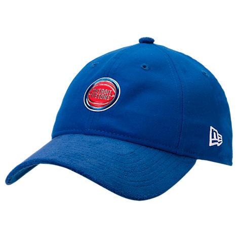 New Era Detroit Pistons NBA 2017 Draft Official On Court Collection 9TWENTY Adjustable Hat