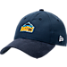 Front view of New Era Denver Nuggets NBA 2017 Draft Official On Court Collection 9TWENTY Adjustable Hat in Team Colors