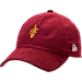 Front view of New Era Cleveland Cavaliers NBA 2017 Draft Official On Court Collection 9TWENTY Adjustable Hat in Team Colors