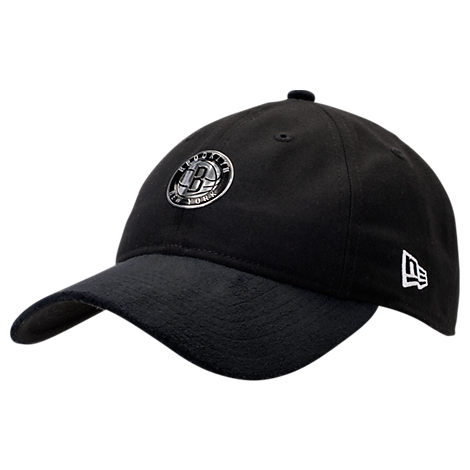 New Era Brooklyn Nets NBA 2017 Draft Official On Court Collection 9TWENTY Adjustable Hat