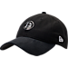 Front view of New Era Brooklyn Nets NBA 2017 Draft Official On Court Collection 9TWENTY Adjustable Hat in Team Colors