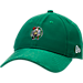 Front view of New Era Boston Celtics NBA 2017 Draft Official On Court Collection 9TWENTY Adjustable Hat in Team Colors