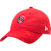 Front view of New Era Atlanta Hawks NBA 2017 Draft Official On Court Collection 9TWENTY Adjustable Hat in Team Colors