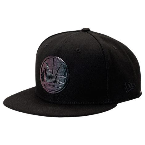 New Era Golden State Warriors NBA Speckle Sheen Snapback Hat